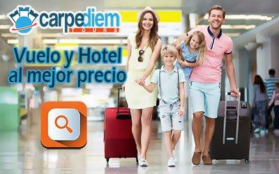 Reserva vuelo y hotel en Barcelona